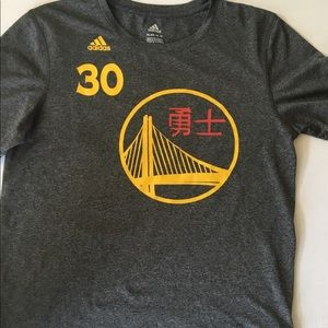 Adidas Steph Curry shirt Youth XL